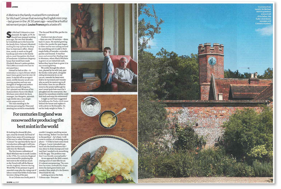 Observer Food Monthly spread